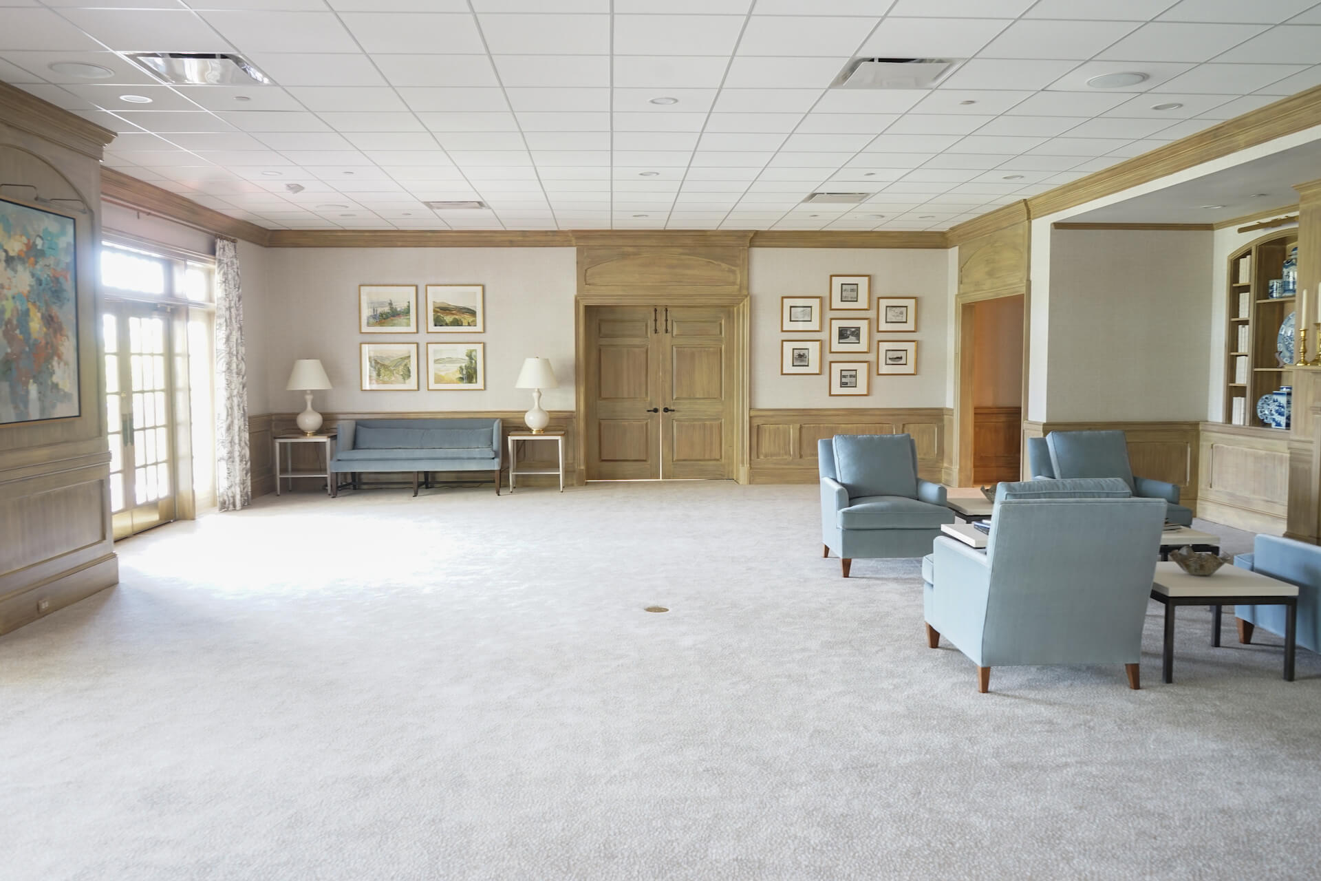 augusta country club living space